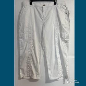 Style & Co. White Capris